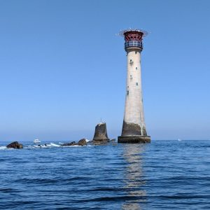 Eddystone Lighthouse title=