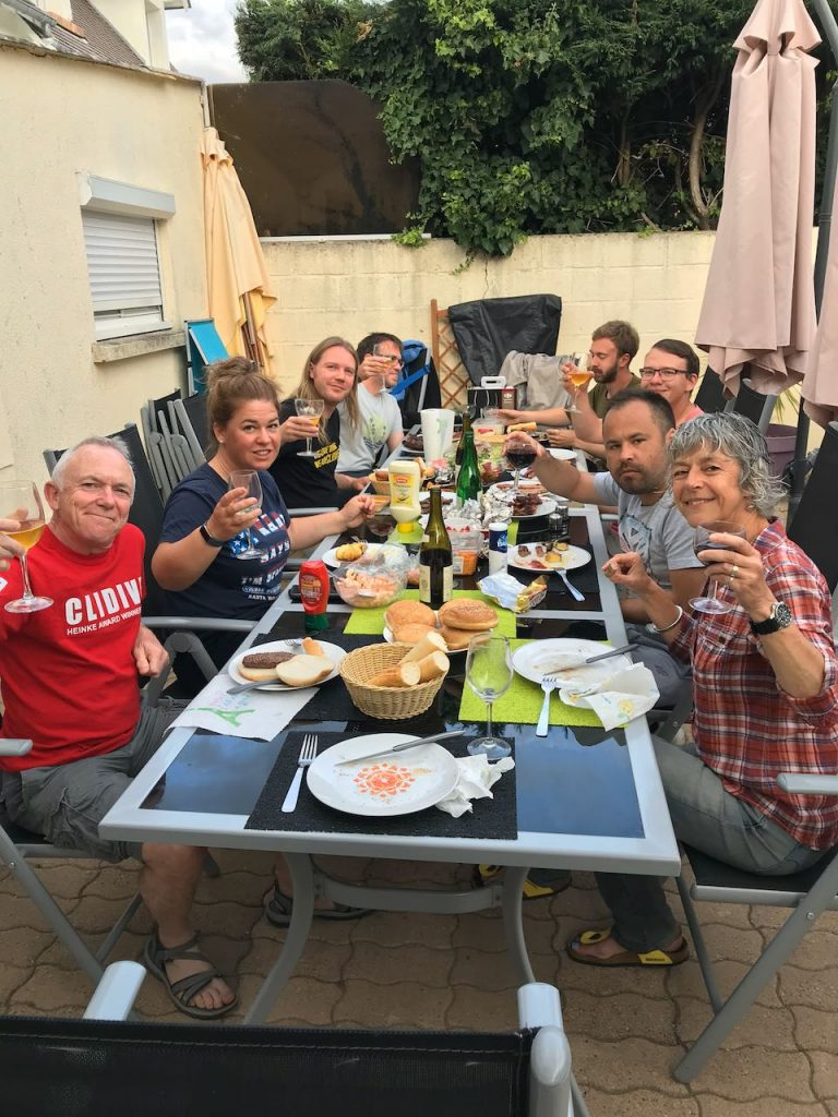 Clidive evening barbecue